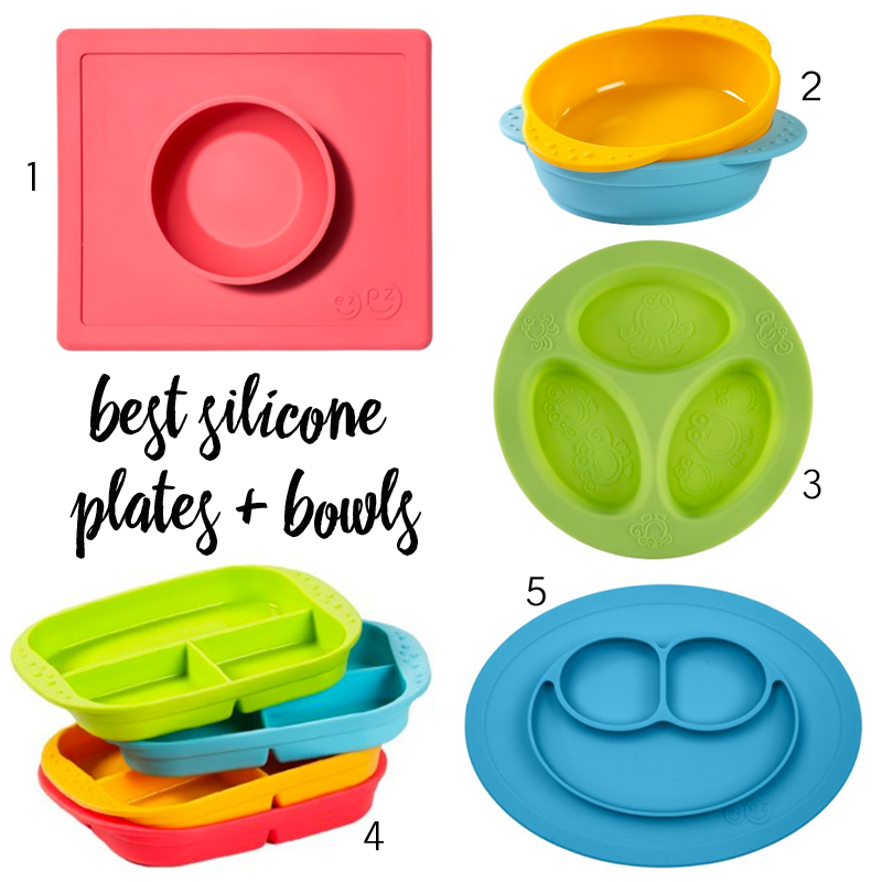 The Best Silicone Plates & Bowls for Toddlers