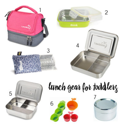 What I Use to Pack My Toddler's School Lunches