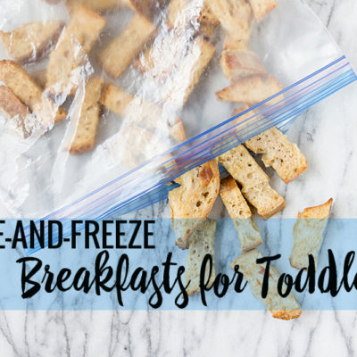 8 Healthy Make-and-Freeze Breakfasts for Toddlers (And I've Tested All of Them!)